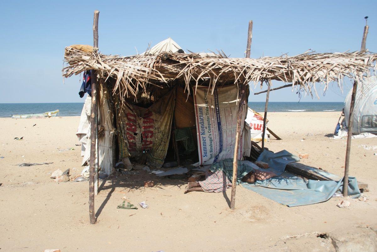 droomhuis op het strand